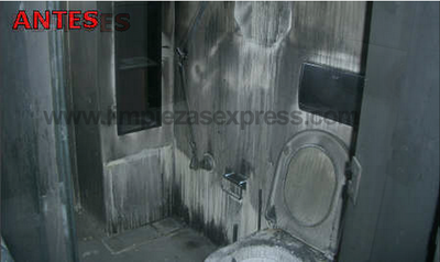 fire damage cleaning