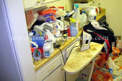 hoarding cleaning